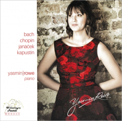 The front cover of Yasmin's debut CD