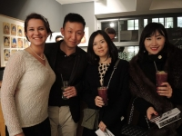 CMF video launch - drinks all round!