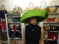 Is this green hat big enough?