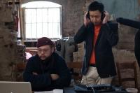 CMF video shoot - soundcheck
