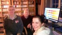 Yasmin meets with John and Mark of Willowhayne Records
