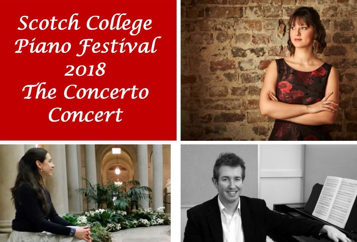 Scotch College Concert Poster
